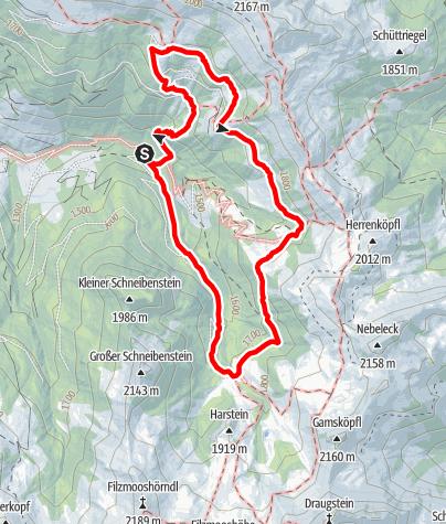 Karte / Großarl: Ellmautal-Almsteig