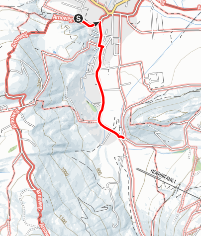 Map / Connection to the Ameisenberg from Altenmarkt Centre