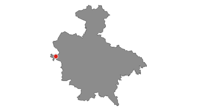 Karte / Radregion Sigmaringen Tour 4a - Donautal-Tour