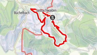 Karte / Heilklima-Wanderung 3