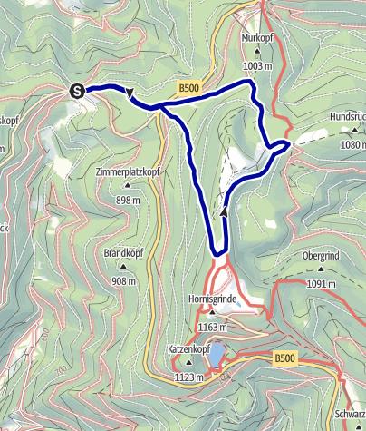 Karte / Heilklima-Wanderweg 6