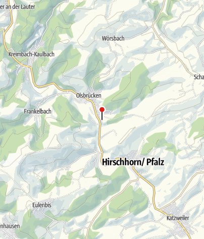 Karte / Hütte Pfälzerwald-Verein Olsbrücken