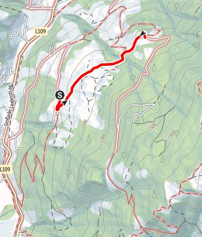 Map / Grossarl: Heugathalm