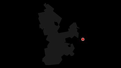 Karte / Churfranken Burgen und Schlösser Radtour