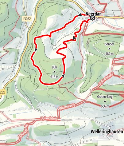 Karte / Willingen-Neerdar (N1)