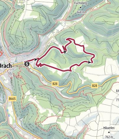 Karte / 4 - Rund um Eberstetten