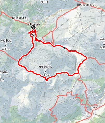 Karte / Butzenseerundweg über Jägersteig