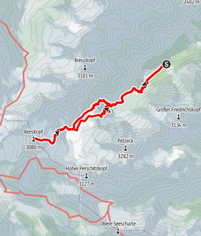 Karte / Keeskopf