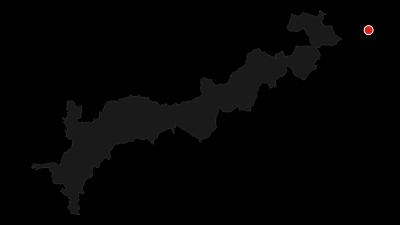 Karte / Kammweg Erzgebirge-Vogtland