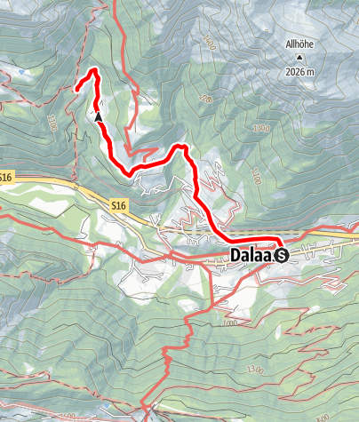 Karte / Römerkeller | Dalaas