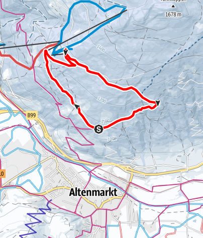 Karte / Bauernregelweg