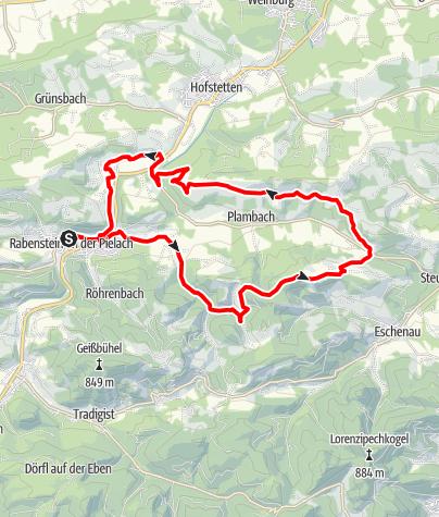 Mapa / Kaiserkogel-Strecke