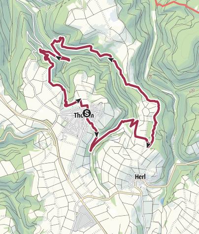 Karte / Traumschleife Schiefer-Wackenweg