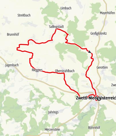 Mapa / Stadt-Land-Tour