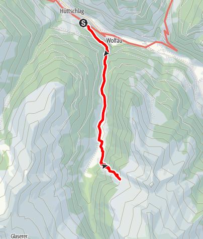 Map / Hüttschlag: Hühnerkaralm