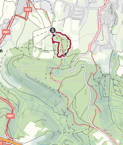 Karte / Naturpfad SinnesWandel