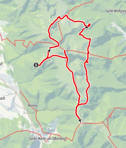 Map / Große Zirbitzkogelrunde