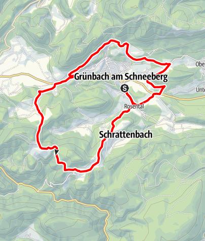 Karte / Schwarzes Gold - Strecke