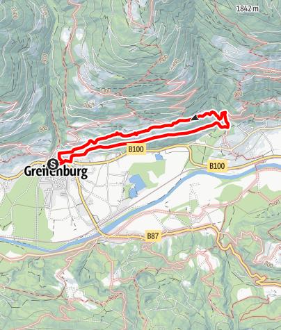 Karte / Panorama – Sunseitnweg