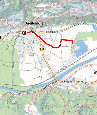 Karte / Badesee – Hochseilgarten