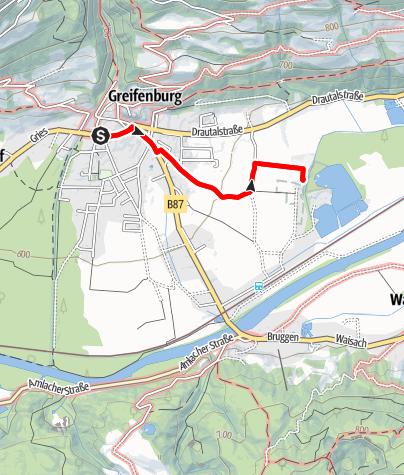 Map / Badesee – Hochseilgarten