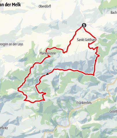 Karte / Raiffeisen-Voralpentour