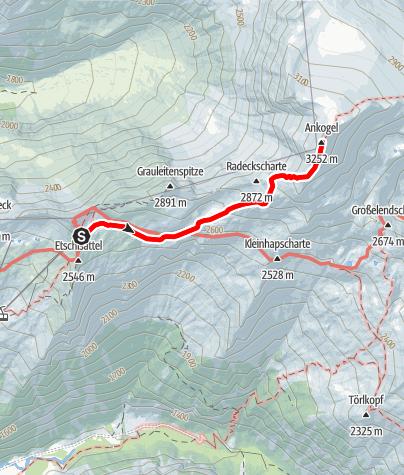 Karte / Ankogel / Mallnitz