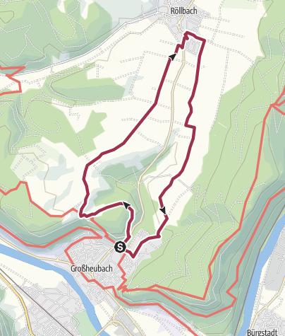 Karte / Wandern in Großheubach (6)