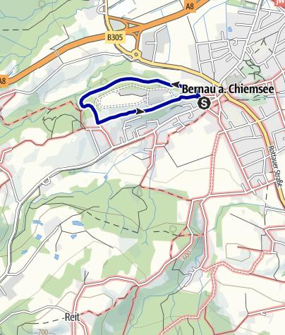 Karte / Rund um den Hitzelsberg