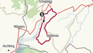 Karte / Streuobstwanderweg Scheidegg - Vom Allgäuer Kalvill bis zum Zabergäu