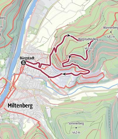 Karte / Unesco - Geopark-Kulturpfad (L)