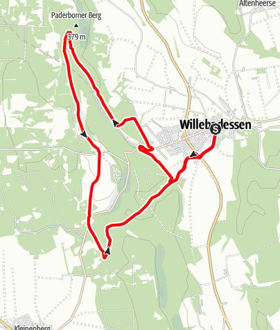 Karte / Aktiv-Park im Eggegebirge, Route 5