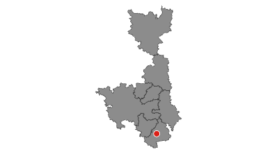 Karte / Saaleradweg - D-Route 11