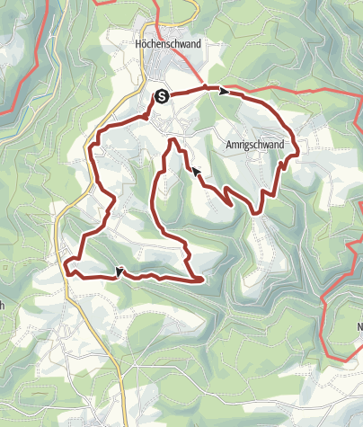 Karte / Höchenschwand: 11-Dörfer-Weg