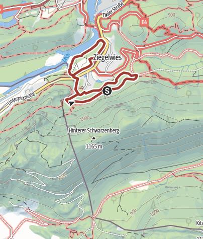 Karte / Walderlebniszentrum (WEZ) Ziegelwies