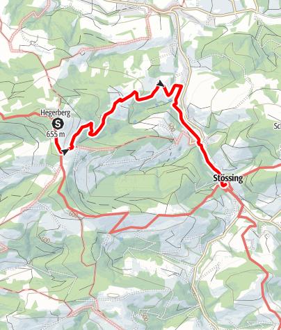 Map / Vom Hegerberg nach Stössing