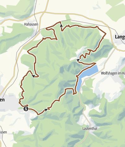 Karte / S5 Die 1000 Meter Tour