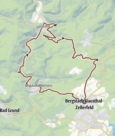 Karte / O1 Wild Man`s Trail