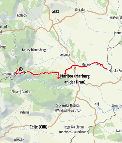 Karte / Südalpenweg 03 / Grenzpanoramaweg
