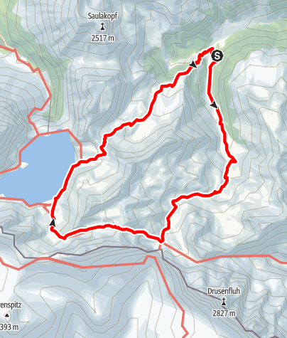 Map / Hohe Erlebnisse im Rätikon/Montafon
