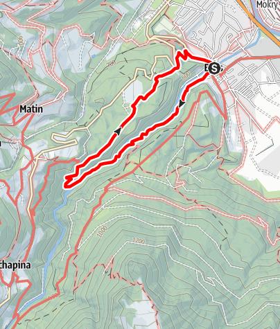 Karte / Bürser Schlucht | Bürs