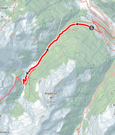 Karte / Hüttschlag: Harbachalm