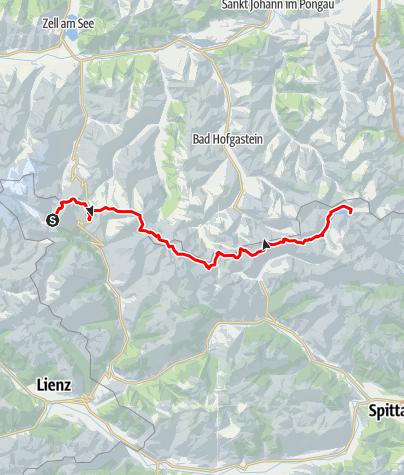 Karte / Tauernhöhenweg