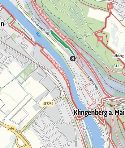Karte / Churfrankensteig