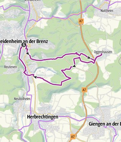 Karte / Schlemmertour mit dem Rad - 3 Gang Menü