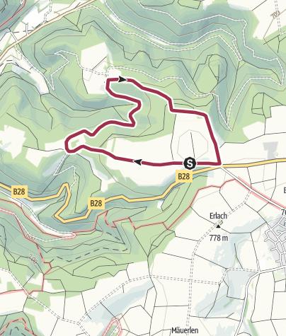 Karte / 10 - Zum Schafhaus