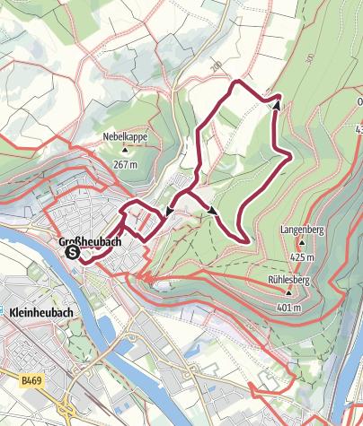 Karte / Wandern in Großheubach (5)