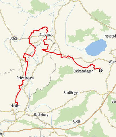 Karte / Sigwardsweg- Nordroute