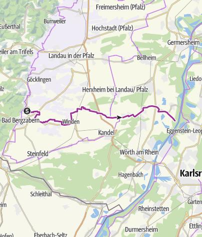 Karte / Vom Riesling zum Zander