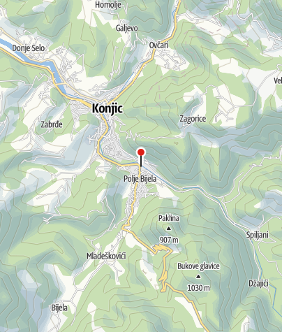 Mapa / Outdoor Bosnia